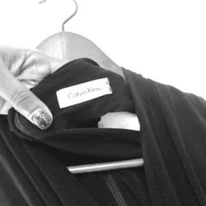 Calvein Klein black dress for any occasion